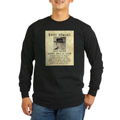 Wanted Grat Dalton Long Sleeve Dark T-Shirt
