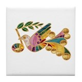 Peace Note Tile Coaster