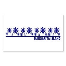 Margarita Island Rectangle Decal