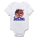 Real Men Bowhunt! Infant Bodysuit