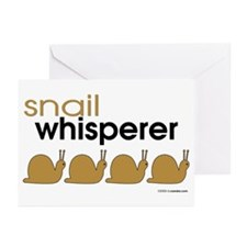 Snail-darker Greeting Cards (Pk of 10)
