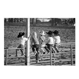 Cowkids at the Rodeo Postcards (Package of 8)