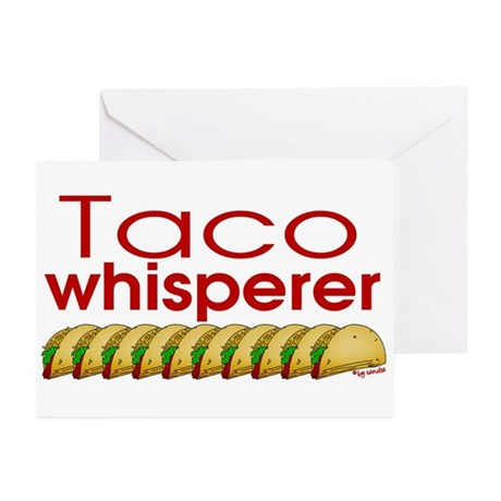 Taco Whisperer Greeting Cards (Pk of 20)
