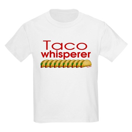 Taco Whisperer Kids Light T-Shirt