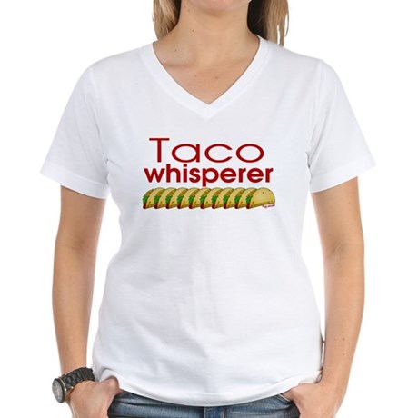 Taco Whisperer Women's V-Neck T-Shirt