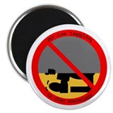 "no toe tapping 2.25"" Magnet (100 pack)"