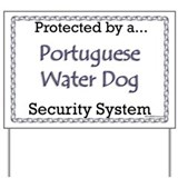 PWD Security Yard Sign