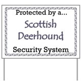 Deerhound Security  Yard Sign