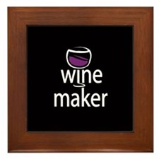 Wine Maker Framed Tile