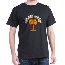 Halloween Wine Girl T-Shirt