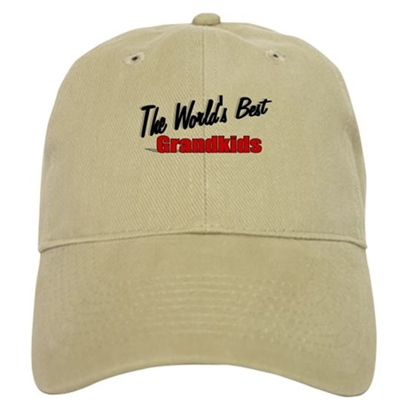 """The World's Best Grandkids"" Cap"