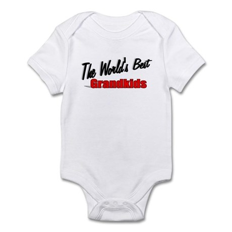"""The World's Best Grandkids"" Infant Bodysuit"