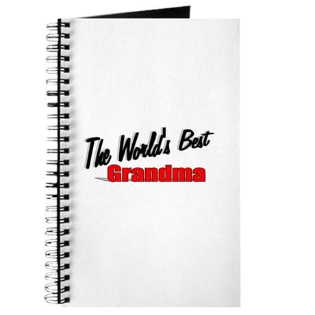 """The World's Best Grandma"" Journal"