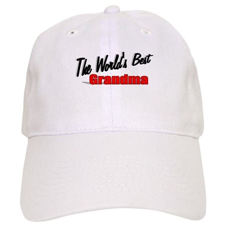 """The World's Best Grandma"" Cap"