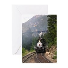 Georgetown Colorado Railroad Greeting Cards (10)