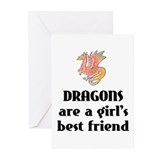 Dragon Girl Greeting Cards (Pk of 20)