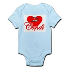 EYE HEART CONDI Infant Creeper