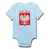 White Eagle and Polska Infant Bodysuit
