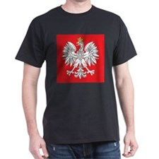 square polish eagle T-Shirt