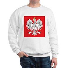 square polish eagle Sweatshirt
