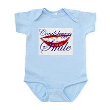 CONDOLEEZZA SMILE Infant Creeper