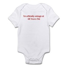 Vintage at 48 Years Old  Infant Bodysuit
