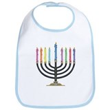 Cute Star of david Bib