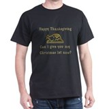 Thanks X-Mas List T-Shirt
