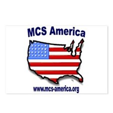 MCS America Logo Postcards (Package of 8)
