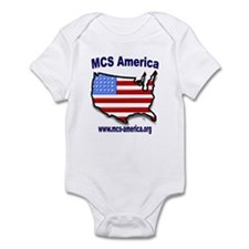 MCS America Logo Infant Bodysuit