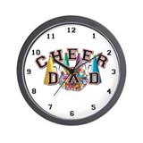 Cheer Dad Wall Clock