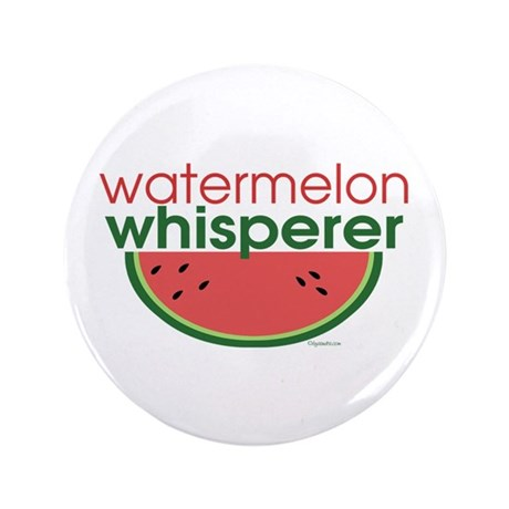 "Watermelon Whisperer 3.5"" Button (100 pack)"