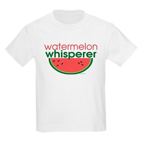 Watermelon Whisperer Kids Light T-Shirt