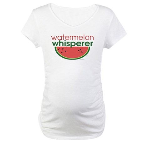 Watermelon Whisperer Maternity T-Shirt