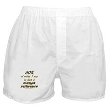 Manga Reference Joke Boxer Shorts