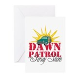 Dawn Patrol at the Jersey Shore Greeting Cards