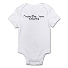 Diesel Mechanic in Training Infant Bodysuit