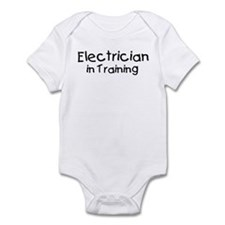Electrician in Training Infant Bodysuit