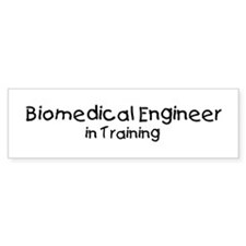 Biomedical Engineer in Traini Bumper Bumper Sticker
