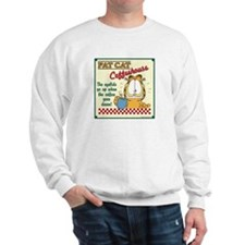 Coffeehouse Garfield Sweatshirt