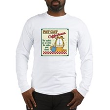 Coffeehouse Garfield Long Sleeve T-Shirt