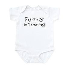Farmer in Training Infant Bodysuit
