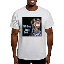 Doberman Pinscher Smiles T-Shirt