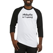 Midwife in Training Baseball Jersey