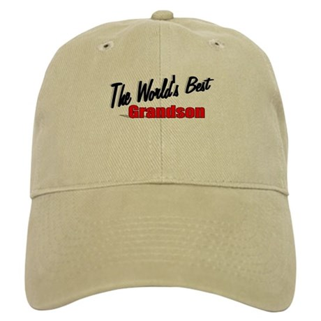 """The World's Best Grandson"" Cap"