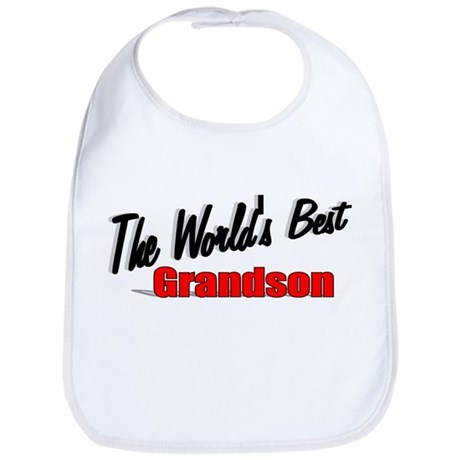 """The World's Best Grandson"" Bib"