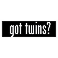got twins? Bumper Bumper Sticker