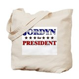 JORDYN for president Tote Bag