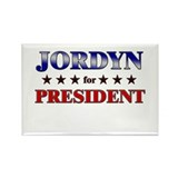 JORDYN for president Rectangle Magnet