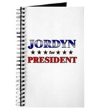 JORDYN for president Journal